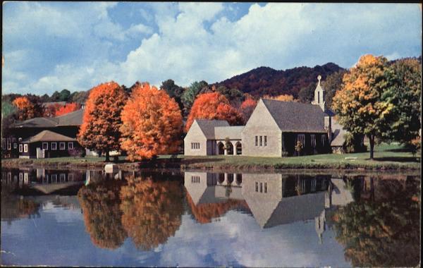 Colorful Autumn Lake Junaluska Nc