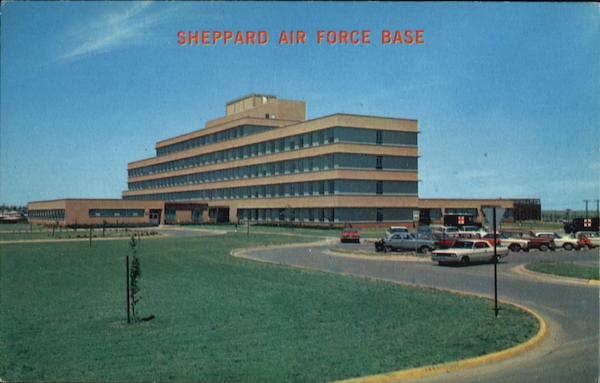 Sheppard air force base usaf hospital texas