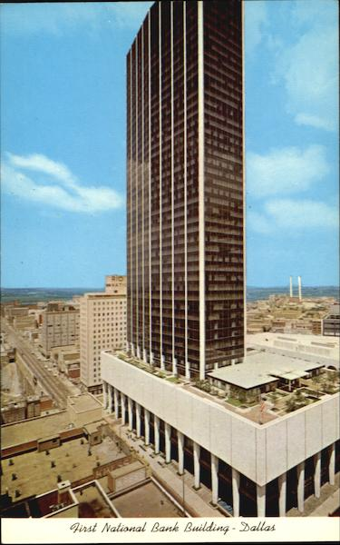 First National Bank Building Dallas Texas