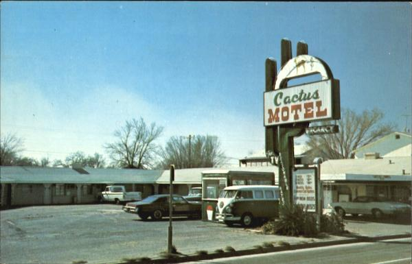 Cactus Motel, 2830 Amarillo Blvd. East Old Hwy 66 Texas