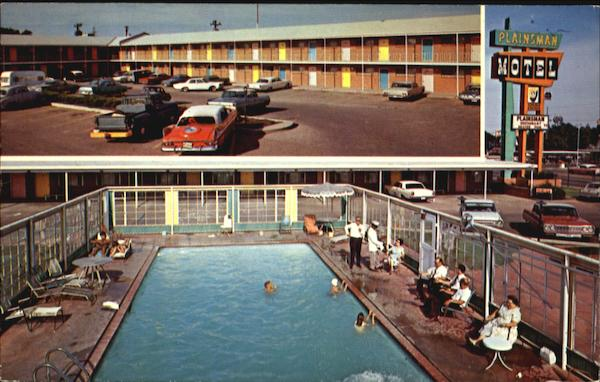 The Plainsman Motel And Restaurant, U. S. 60-66 East 1503 Amarillo Blvd Texas