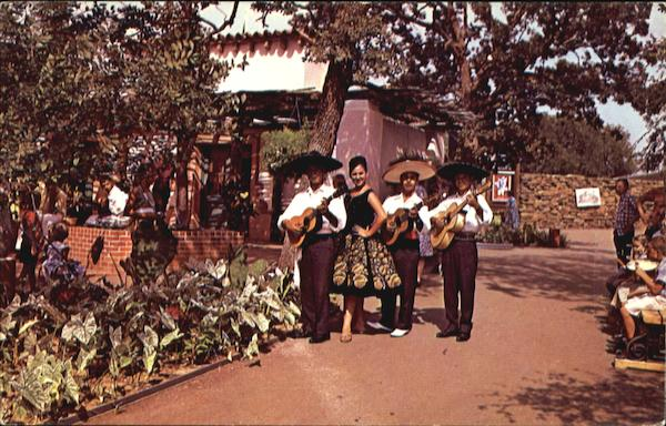 Strolling Musicians - Six Flags Texas Amusement Parks