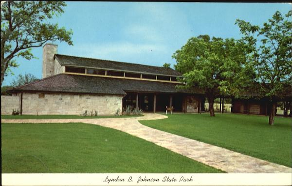 Lyndon B. Johnson State Park Visitors Center Stonewall Texas