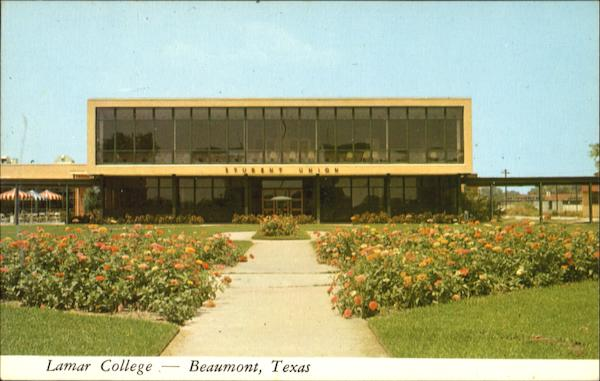 Student Union Building, Lamar College Beaumont Texas