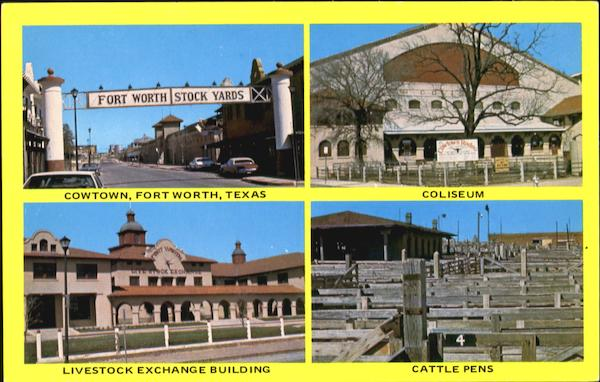 Fort Worth Stock Yards Texas