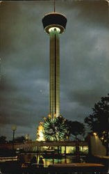 The Tower Of The Americas Postcard