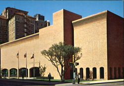San Antonio Main Library Postcard