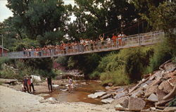 Foot Bridge Over Ceta Creek
