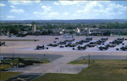 Flightline Of Bergstrom Air Force Base