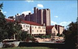 Jester Center, University of Texas Postcard