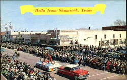 Hello From Shamrock Postcard