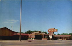 Palo Duro Motel, 2820 N. E. 8th, U. S. 60 & 66 East Postcard