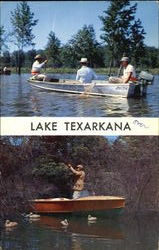 Lake Texarkana Postcard