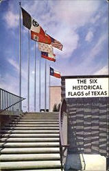 The Six Historical Flags Of Texas