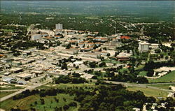 Aerial View Of Southwest Texas State University