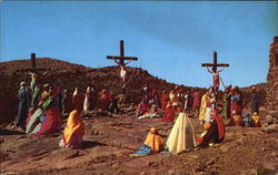 The Crucifixion Scene Postcard
