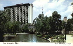 San Antonio River Postcard