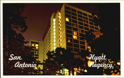 San Antonio Hyatt Regency Postcard