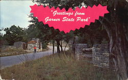 Greetings From Garner State Park Postcard