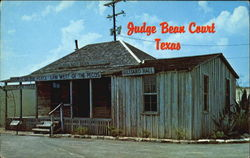 Judge Bean Museum