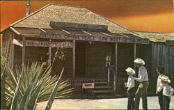 Judge Roy Bean Saloon And Court Postcard