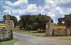 Entrance To The Texas Lion's Camp
