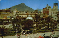 A Portion Of Downtown Monterrey Postcard