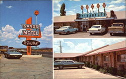 Sands Motel And Restaurant, Highay 80 East Postcard