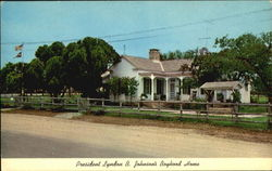 President Lyndon B. Johnson's Boyhood Home