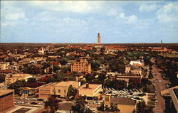 University Of Texas Tower And Campus Postcard