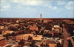 University Of Texas Tower And Campus