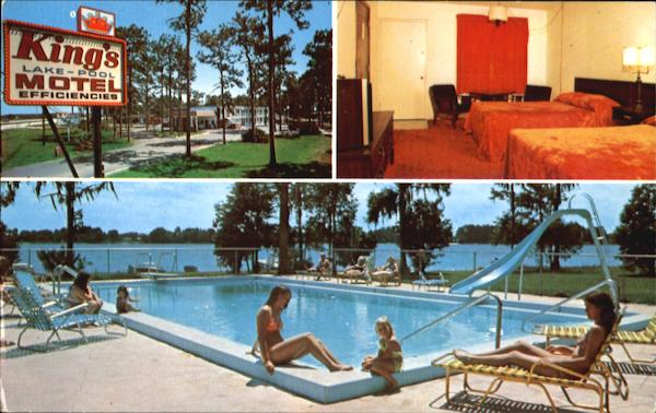 King's Motel, Lake Cecile 4836 Spacecoast Parkway - Hwy. 192 Kissimmee Florida
