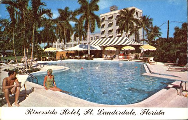 Riverside Hotel, 620 East Las Olas Blvd Ft. Lauderdale Florida