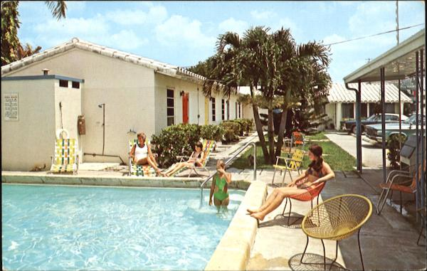 The Anchor Motel, 1400 South Federal Highway U. S. No. 1 Fort Lauderdale Florida