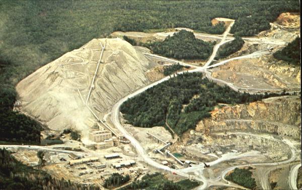 Asbestos Mining In Us : Ruberoid company s asbestos mine eden vt