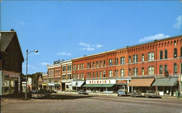 Looking North, Main Street Randolph, VT