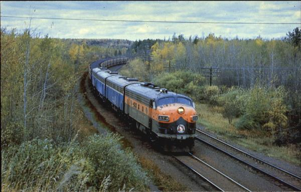 Great Northern Railway's 317-A F-7A Trains, Railroad