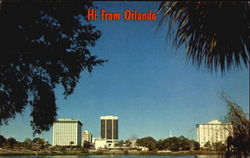 Hi From Orlando Postcard