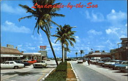 Downtown Lauderdale-By-The-Sea Postcard