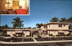 Seaside Resort Motel, 4605 Ocean Drive Postcard