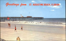 Greetings From St. Augustine Beach Postcard