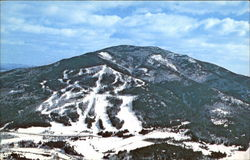 Aerial View Of Mt. Ascutney Ski Area