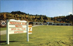 The Mountain Road Motel;
