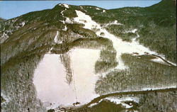 Aerial View Of Spruce Peak Ski Area, Mt. Mansfield