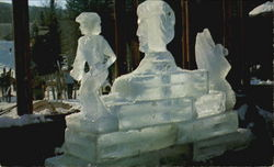 Special Ice Sculpture At Mt. Snow