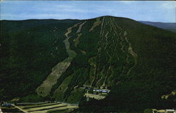 Aerial View Of Mt. Snow