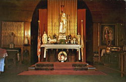 The Altar At The Fort St. Anne Shrine
