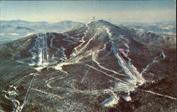 Aerial View Of The Jay Peak Ski Area, Jay
