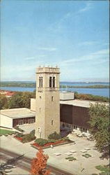 Carillon Tower, University of Wisconsin Postcard