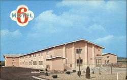 6 Motel Of Madison, 6402 East Broadway Postcard